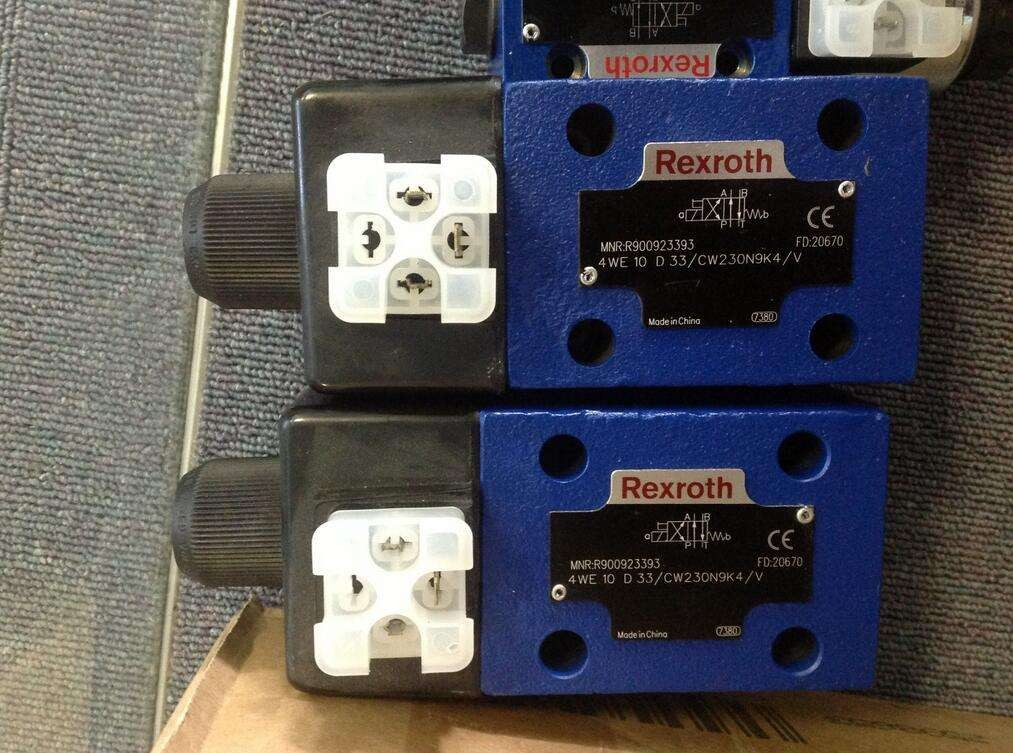 REXROTH 4WE 10 R3X/CG24N9K4 R900765353 Directional spool valves